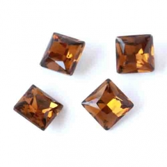square and amber direct sales good quality all size and many colors rhinestone