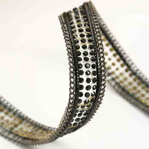 black stone with pewter chain direct sales good quality all size and many colors rhinestone sheet