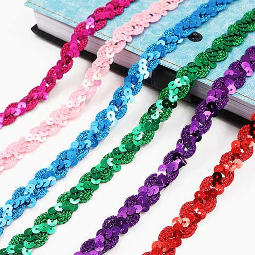 good and beautiful decorative ribbon for shoes, garments and handbags
