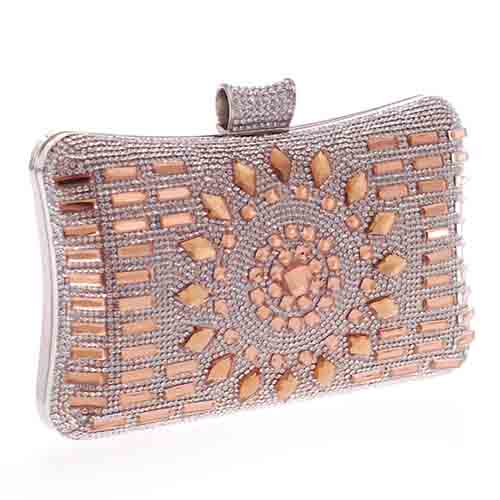 beautiful rhinestone sheet with colorful stone for handbag