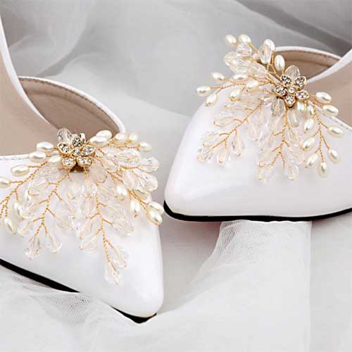 Japanese and south Korean style shoes flower for girls
