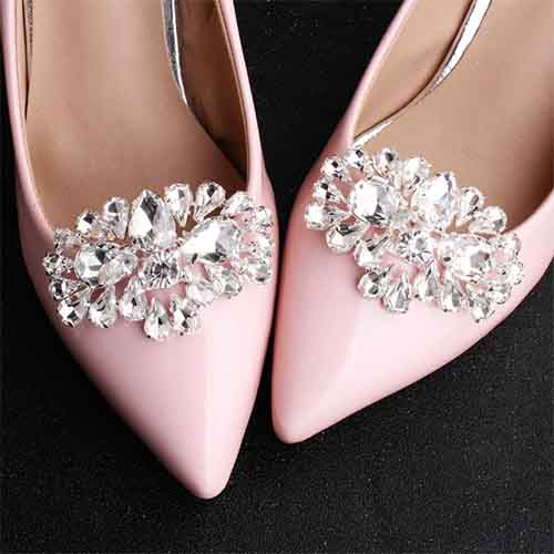 clip with all shapes and sizes rhinestones for women shoes
