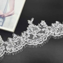 New design of lace flower ribbon for fashion dress flower floral accessories