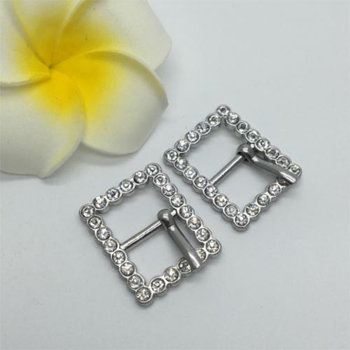 13MM zinc buckle for shoes and bags