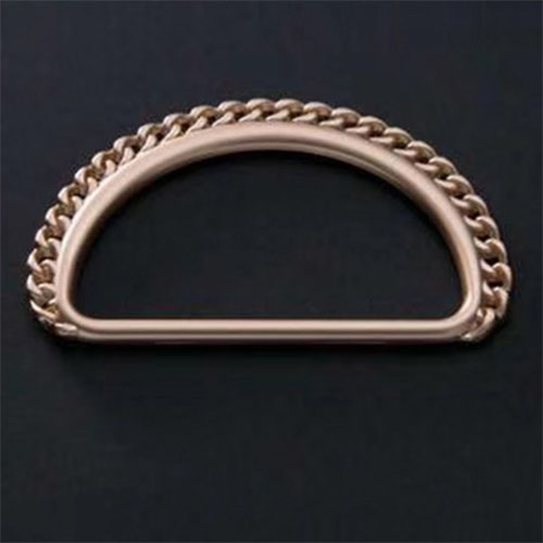 D-ring for shoes and bags