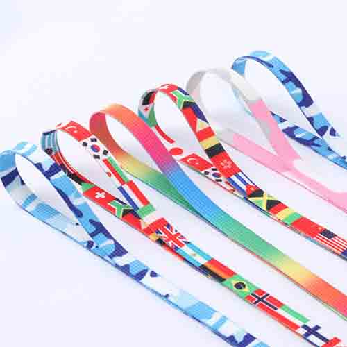 iridescent shoelaces for leisure shoes