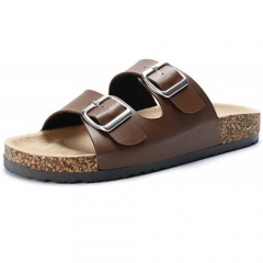 Hot Selling New Arrival Style Comfortable Cork Sole Sandals for Men in Summer