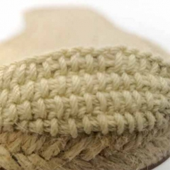 Special sole for espadrilles