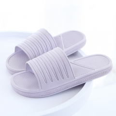 Solid color summer non-slip slippers