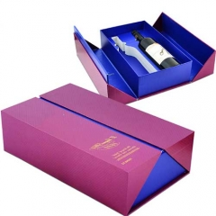 Top grade wine packing box